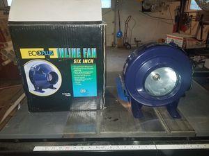 """Ecoplus 6"""" wet dry inline fan for Sale in Blountville, TN"""