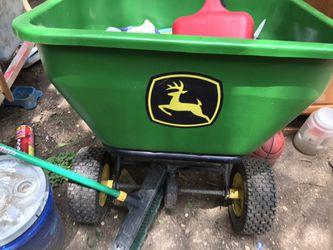 For drive mower seed thrower John deer for Sale in Waco,  TX