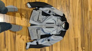 Selling Motorcycle Gear (Protective Jacket , Gloves and Helmet) for Sale in Framingham, MA