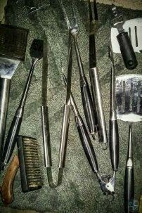 Outdoor* Grill* Utensils // Tools // BBQ // barbeque for Sale in Palm Desert, CA