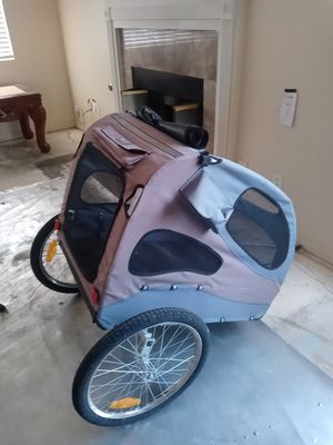 Bike trailer with brand new dbl intertube tires for Sale in Victorville, CA