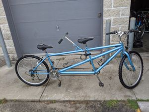 """26"""" tandem (bike for 2) new tube , Excellent tires only $350 for Sale in Lincoln, RI"""