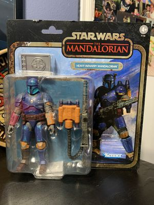 Star Wars the black series credit collection Heavy Infantry Mandalorian for Sale in Fontana, CA