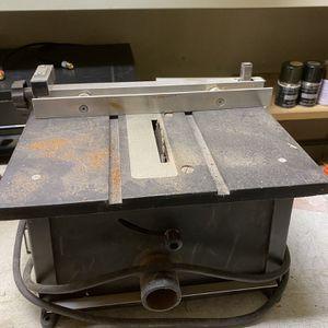"DREMEL 4"" TABLE SAW MODEL 580 for Sale in San Ramon, CA"