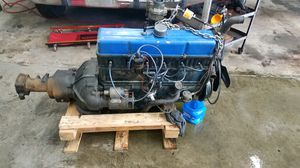 235 straight 6 motor and trans for Sale in Seattle, WA