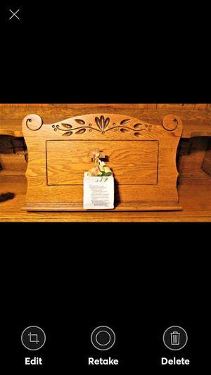 CROSS/DOVE/BIBLE FIGURINE for Sale in Lynchburg, VA