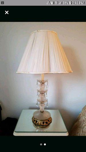 Vintage Crystal Lamps for Sale in Fort Washington, MD
