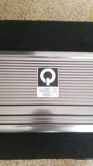 Quantum audio QB4150 stero amplifier for Sale in Modesto, CA