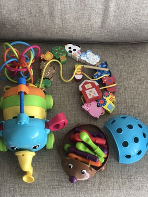 Kids Montessori toys 6month -3years old for Sale in Boston, MA