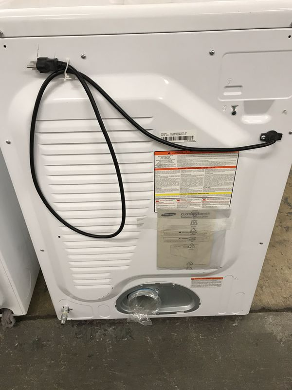 SAMSUNG GAS-DRYER
