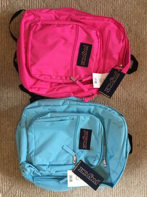 Jansport Big Student Backpacks New with Tags Lifetime Warranty for Sale in Torrance, CA