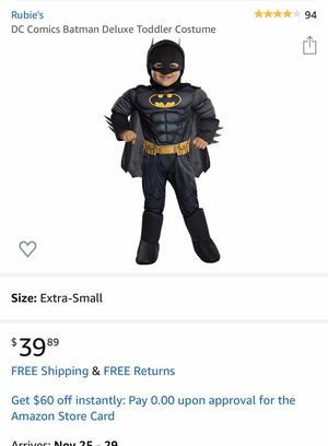 Batman costume for Sale in Tualatin, OR