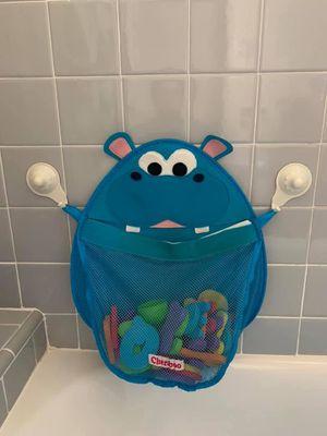 Hurley Hippo Bath Toy Organizer (blue) for Sale in Pasadena, CA