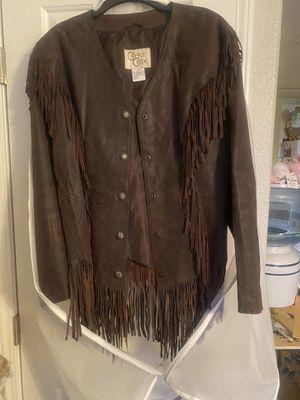 Brown suede jacket. for Sale in Las Vegas, NV