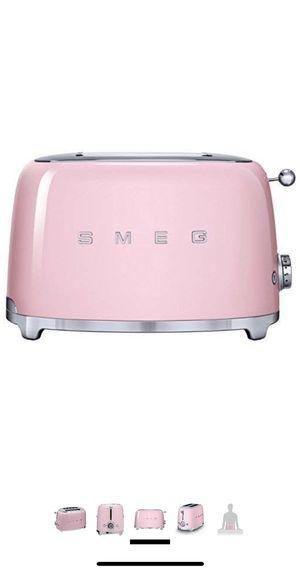 Smeg 2-Slice Toaster, Pink for Sale in San Jose, CA