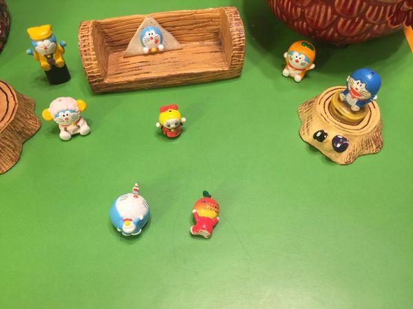 Japan Doraemon Antique Figure Set