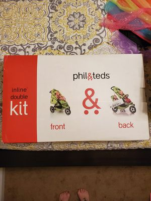 Phil and Ted double stroller kit for Sale in Virginia Beach, VA