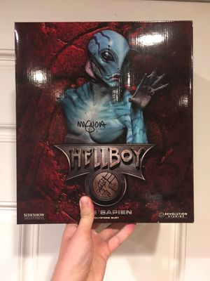Hellboy sideshow action figure statue hot toys for Sale in Los Angeles, CA