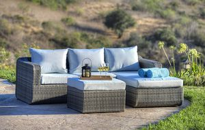 Brand new sofa chase lounger outdoor wicker patio furniture set for Sale in Chula Vista, CA