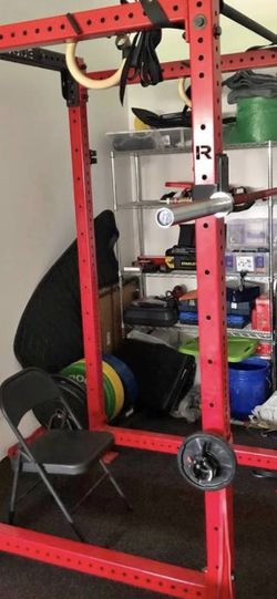 Rogue monster lite RML-490c red power rack for Sale in Orlando,  FL