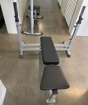Olympic weight bench! Commercial grade ! For 7 foot bars! for Sale in Arlington, TX