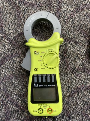 tPi 296 clamp meter for Sale in Santa Ana, CA