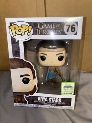 Funko Pop! Game of Thrones #76 Arya Stark ECCC 2019 Shared Exclusive for Sale in Inglewood, CA