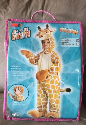Giraffe Halloween costume for 2-4 for Sale in Brooklyn, NY