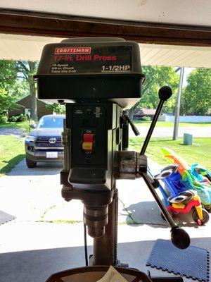 Craftsman 17inc 1.5HP drill press for Sale in Edwardsville, IL