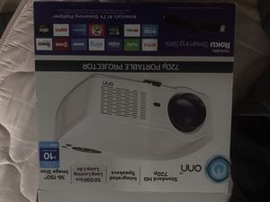 Onn Projector with Roku stick for Sale in Morrisville, PA
