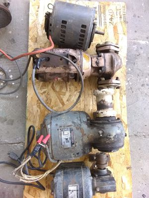 $200 four commercial grade electric motors work perfectly, see description for motor details for Sale in San Diego, CA