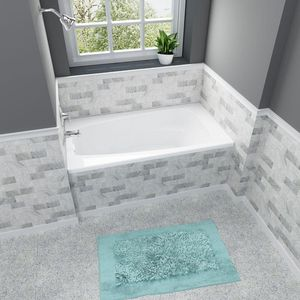 New American Standard Colony 5 ft. x 32.75 in. Reversible Drain Soaking Bathtub in White ☆Pick up only☆ for Sale in Phoenix, AZ