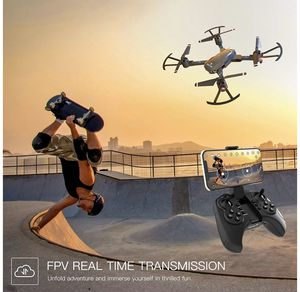 SNAPTAIN A15 Foldable FPV WiFi Drone w/Voice Control/120°Wide-Angle 720P HD Camera/Trajectory Flight/Altitude Hold/G-Sensor/3D Flips/Headless Mode/On for Sale in Eastvale, CA