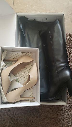 Aldo heels and boots for Sale in Phoenix, AZ