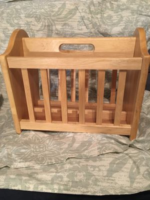 Magazine Rack (wood) for Sale in Littleton, CO