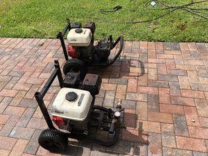 2 Honda pressure Washer's $300.00 each for Sale in Orlando, FL