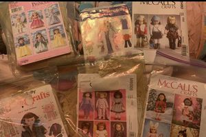 Six patterns for 18 inch doll American girl doll for Sale in Mesa, AZ