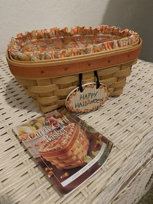 Halloween longaberger basket for Sale in Fort Myers, FL
