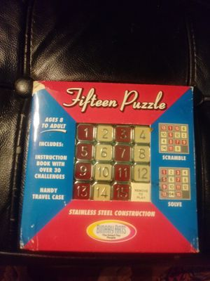 Fifteen Puzzle Vintage Game for Sale in New York, NY
