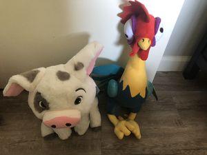 Disney's Moana Pua & Heihei stuffed animals for Sale in San Diego, CA