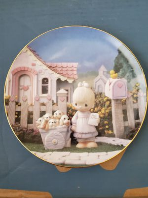 Precious moments plate for Sale in Orange City, FL