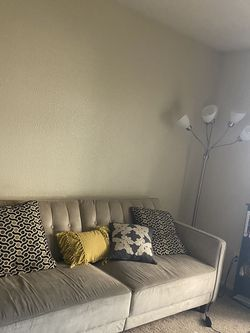 Pearl Colored MCM velvet Couch for Sale in Mesa,  AZ