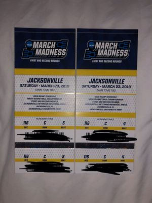 NCAA March Madness Session 3 Tickets for Sale in Jacksonville, FL