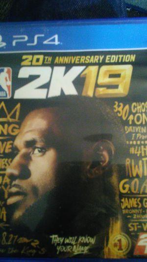 2k19 20th anniversary edition for Sale in Phoenix, AZ