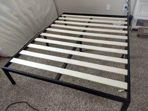Wooden slack Bed frame for Sale in Lewis Center, OH