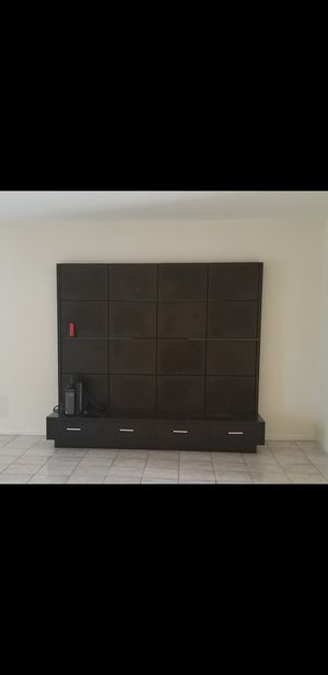 Entertainment TV Wall Unit for Sale in Miramar, FL