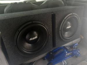 Pro competition subwoofers for Sale in Bound Brook, NJ
