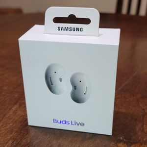 New Samsung Buds Live White True Wireless Earbuds for Sale in Chandler, AZ