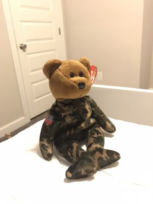 Hero Bear Ty Beanie Baby for Sale in Norfolk, VA
