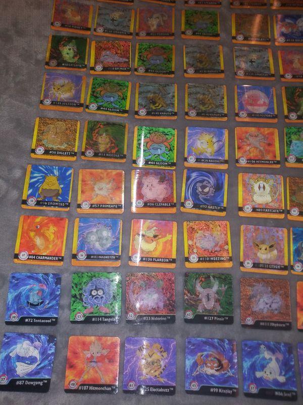 Pokemon Flipz Cards